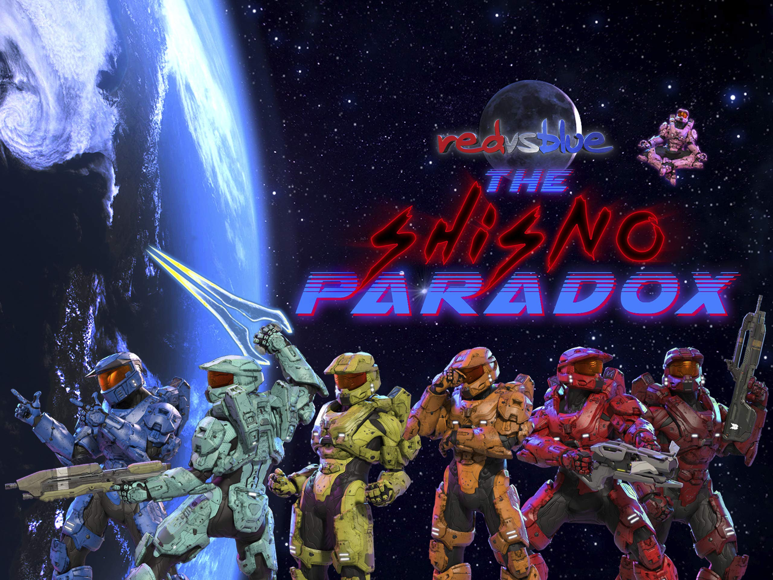 Amazon Com Watch Red Vs Blue The Shisno Paradox Season 1
