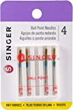 SINGER 4812 Universal Ball Point Machine Needles, Size 80/11, 4-Count