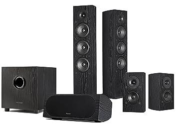 pioneer 5 1 speakers. pioneer sp-pk52fs andrew jones 5.1 home theater speaker package 5 1 speakers l