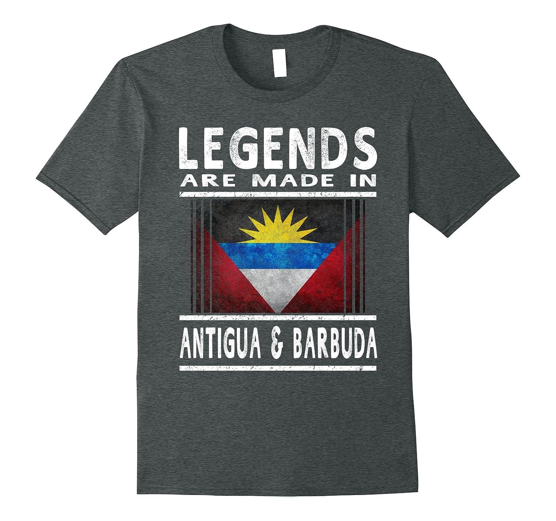 Antiguan & Barbudan Legends T Shirt: Antigua & Barbuda Flag-RT