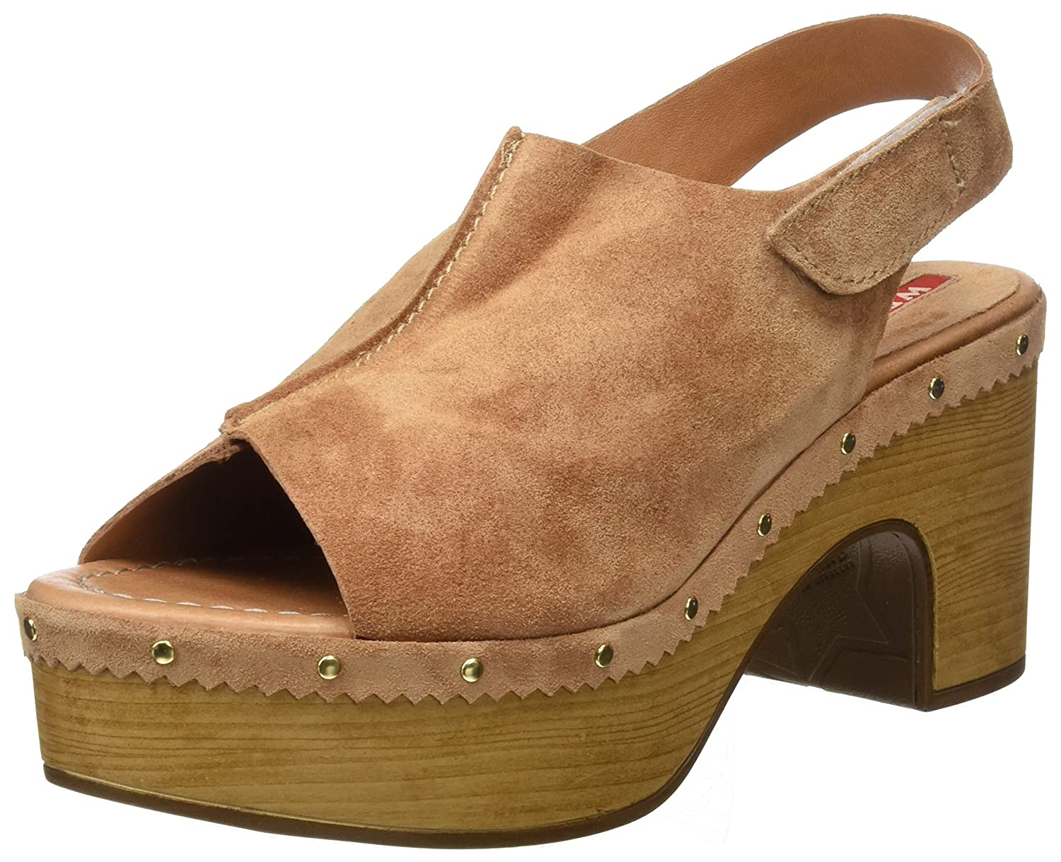 Weekend by Pedro MIRALLES 17308, Zuecos para Mujer 40 EU Rosa (Nude)