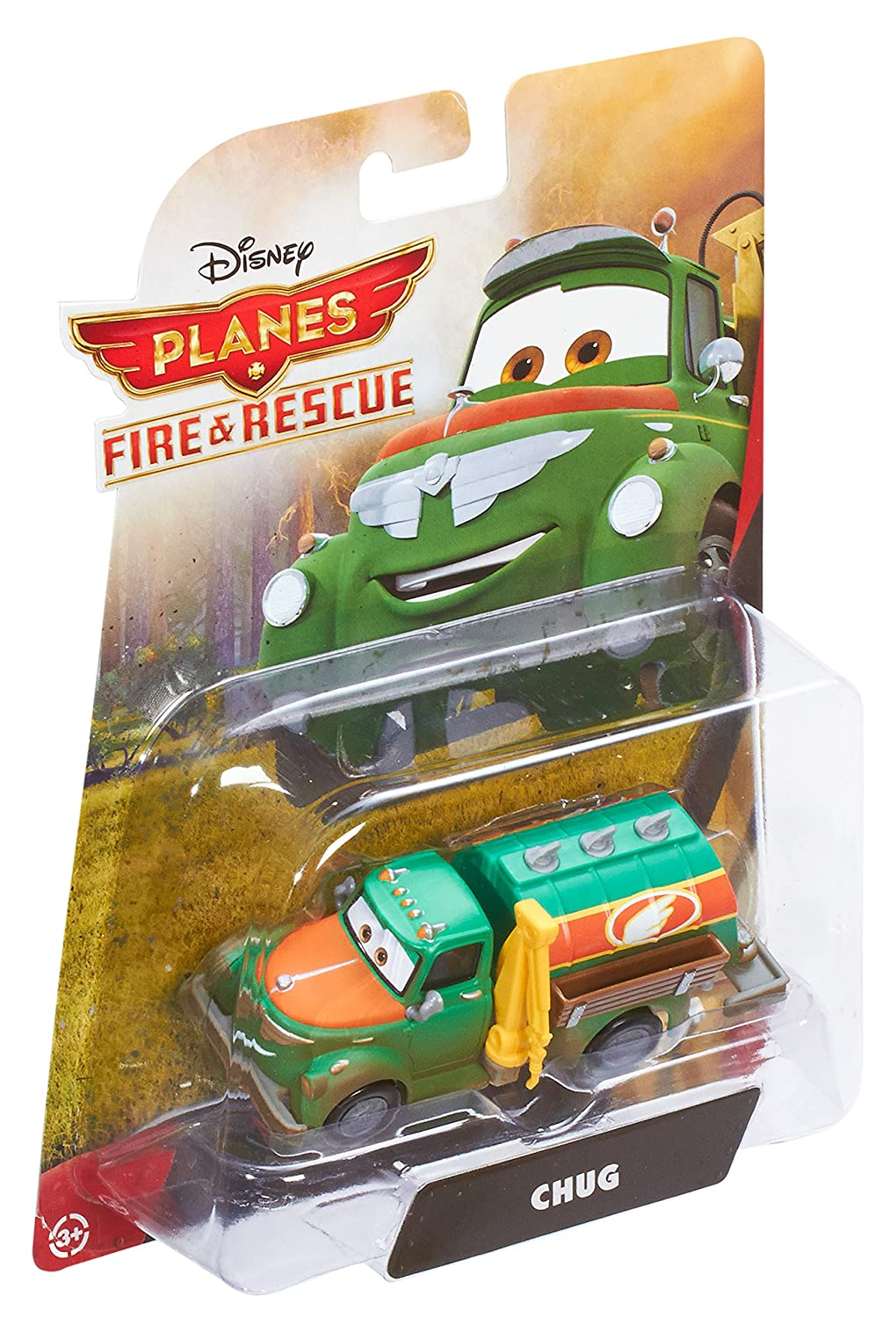 Disney Planes Fire and Rescue Chug Die-cast Vehicle Mattel CBN13