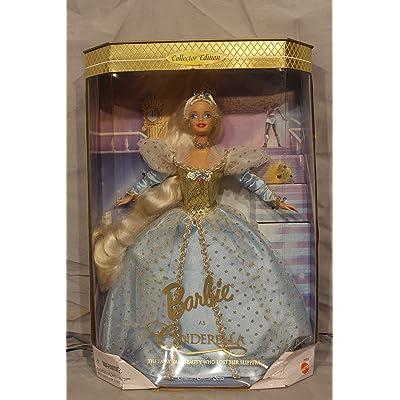 Barbie As Cinderella - Barbie Doll By Mattel Children's Series 1997: Toys & Games