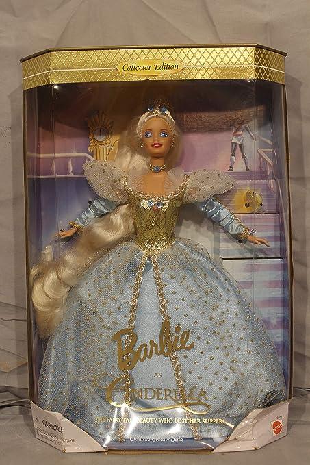 DISNEY BARBIE PRINCESS CINDERELLA DOLL DRESS TIARA SHOES W RING FOR YOU MATTEL