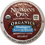 Newman's Own Special Blend Coffee, Medium Roast Coffee K-Cup Portion Pack for Keurig K-Cup Brewers (Pack of 80, net wt…