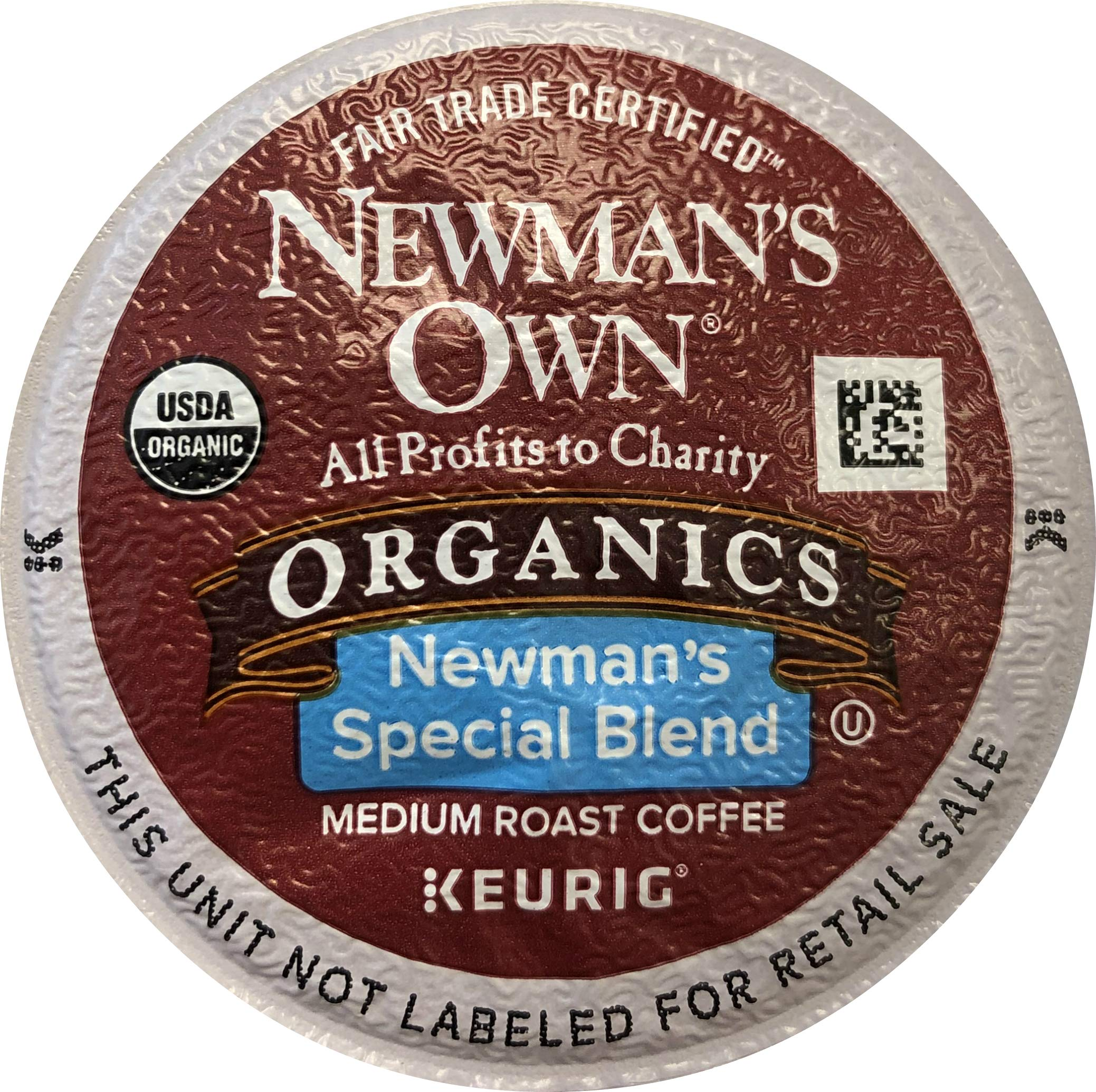 Newman's Own Organics Special Blend Coffee K-Cups (100 K-Cups) - Packaging May Vary by Newman's Own