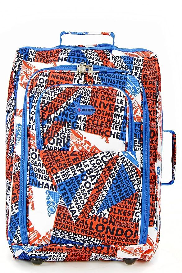 Amazon.com: Frenzy® / Cities® Lightweight Hand Luggage ...