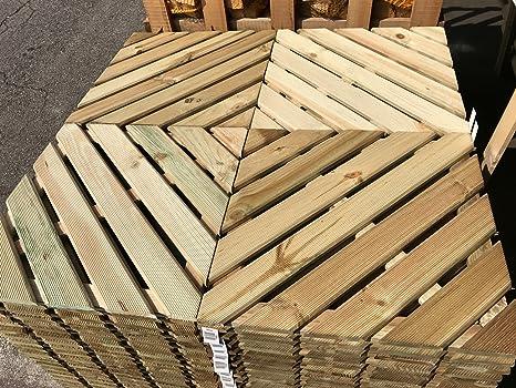 legnagoferr – PZ 4 suelos suelo Azulejos de madera impregnada ...