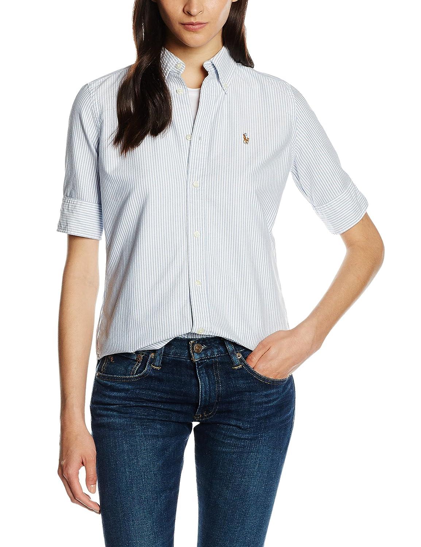 Polo Ralph Lauren SS Jenny Shirt Camisa, Multicolor (BSR Blue ...