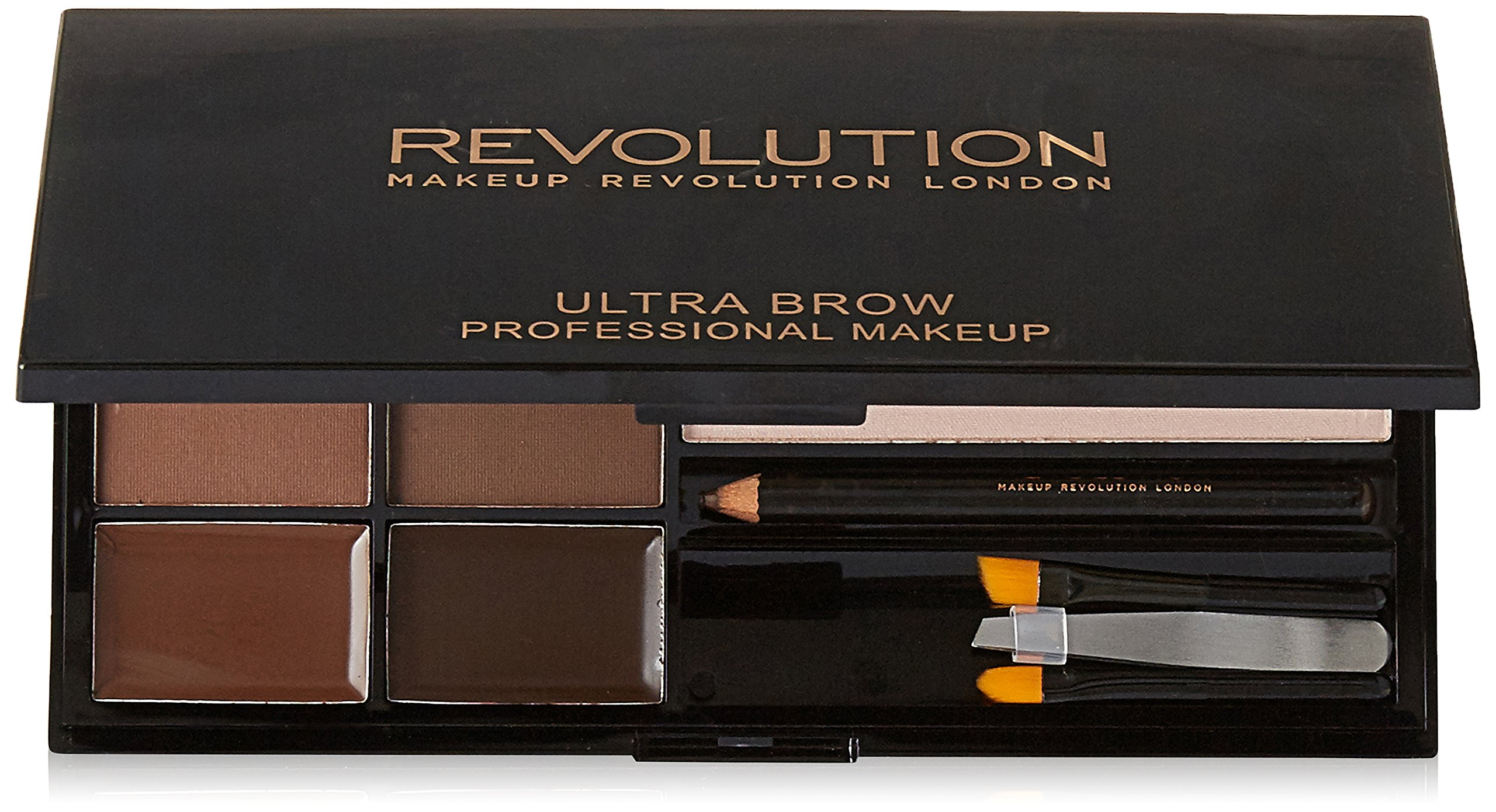 MAKEUP REVOLUTION Ultra Brow Palette Medium to Dark 19g