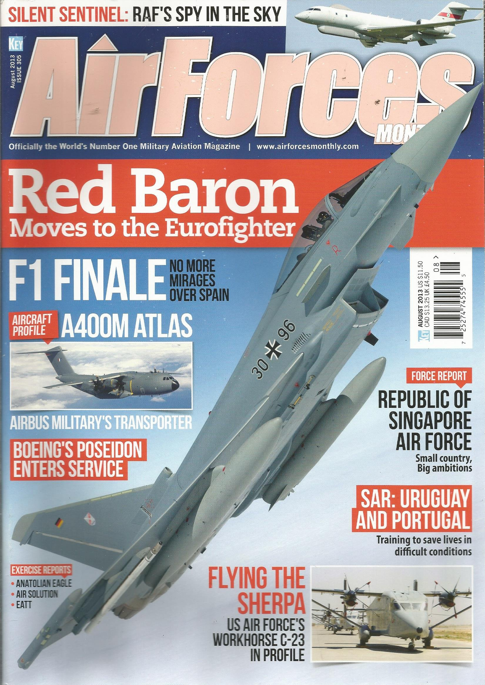 Air Forces Monthly (August 2013) PDF