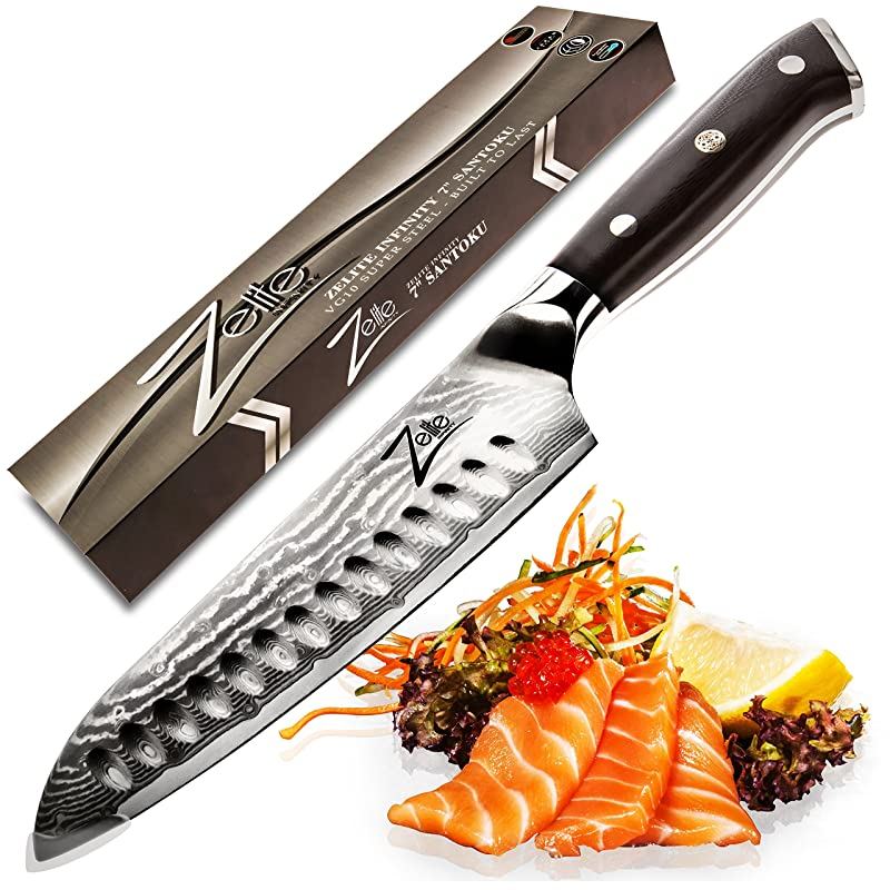 Zelite Infinity 7-Inch Santoku Knife Review