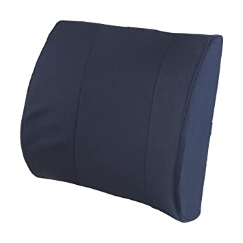 DMI Lumbar Support Pillow for Office or Kitchen Chair, Car Seat or  Wheelchair Comes with Removable