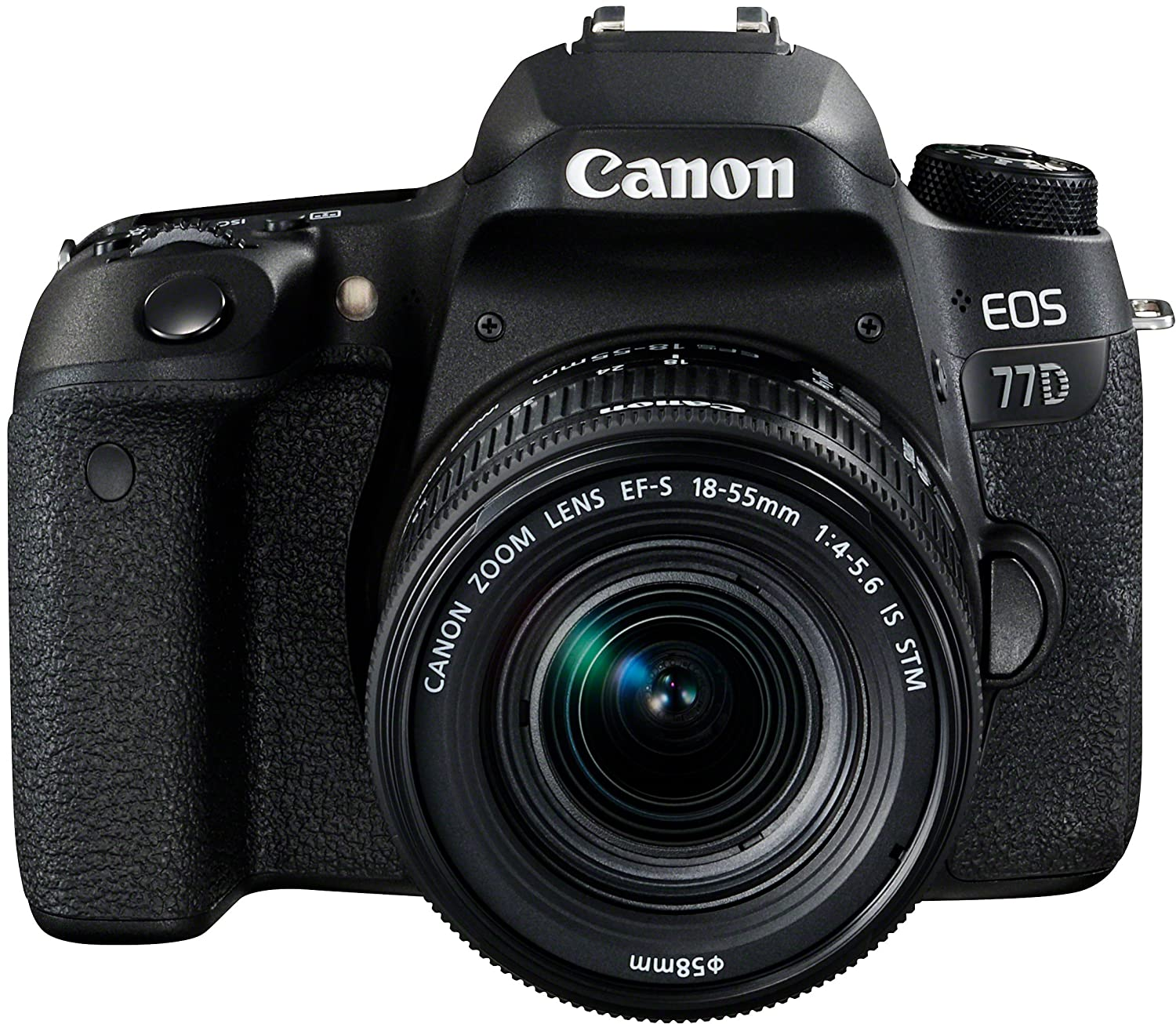 Canon EOS 77D - Cámara réflex de 24.2 MP (vídeo Full HD, WiFi ...
