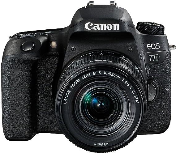 Cámara Canon 77D