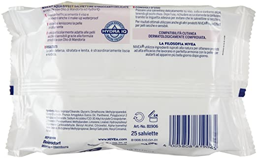 Nivea - Dialy Essentials - Toallitas húmedas - 25 toallitas: Amazon.es: Belleza
