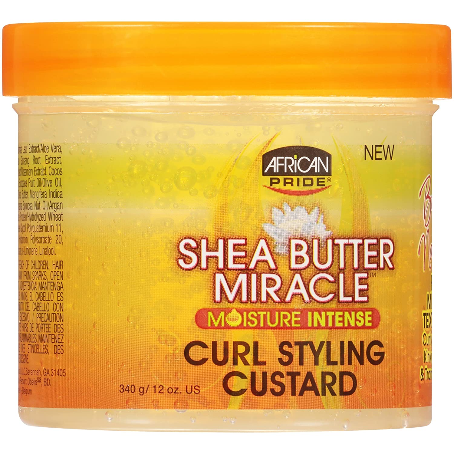 African Pride Shea Butter Miracle Curl Styling Custard