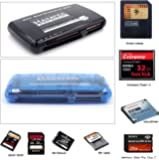 HAYATEC All in 1 Memory Card Reader / Writer Smartmedia, Compact Flash, Memory Stick, SD CF I II III XD Picture SD SDHC SDXC Mini SD MMC Memory Stick Pro Pro Duo RS MMC Old type reader USB 2.0