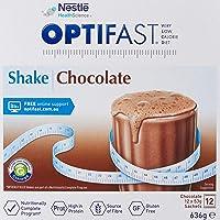Optifast Very Low Calorie Diet Milk Shake (12 Sachets), Chocolate, 636 grams
