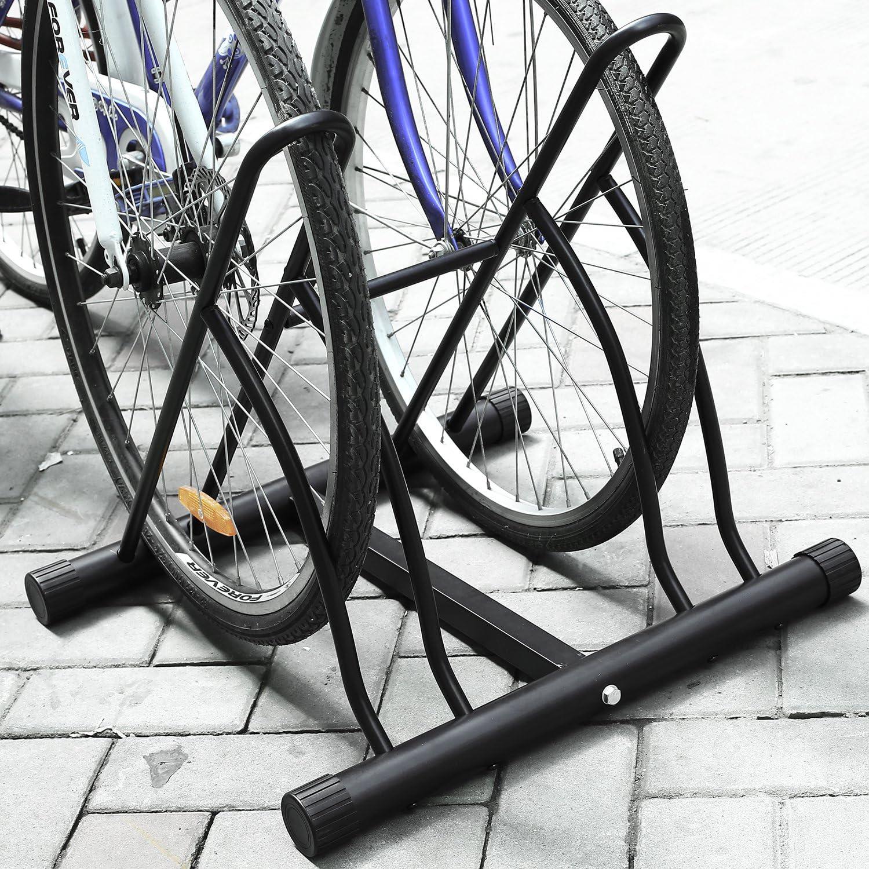 Femor Aparca Bicicleta Soporte para Bicicleta Suelo Aparcamiento ...