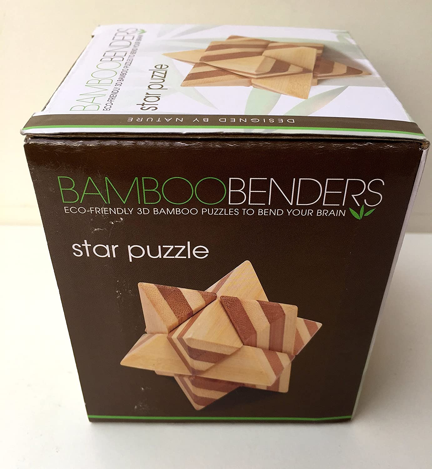 Bamboo Benders Eco-Friendly 3D Bamboo Star Puzzle