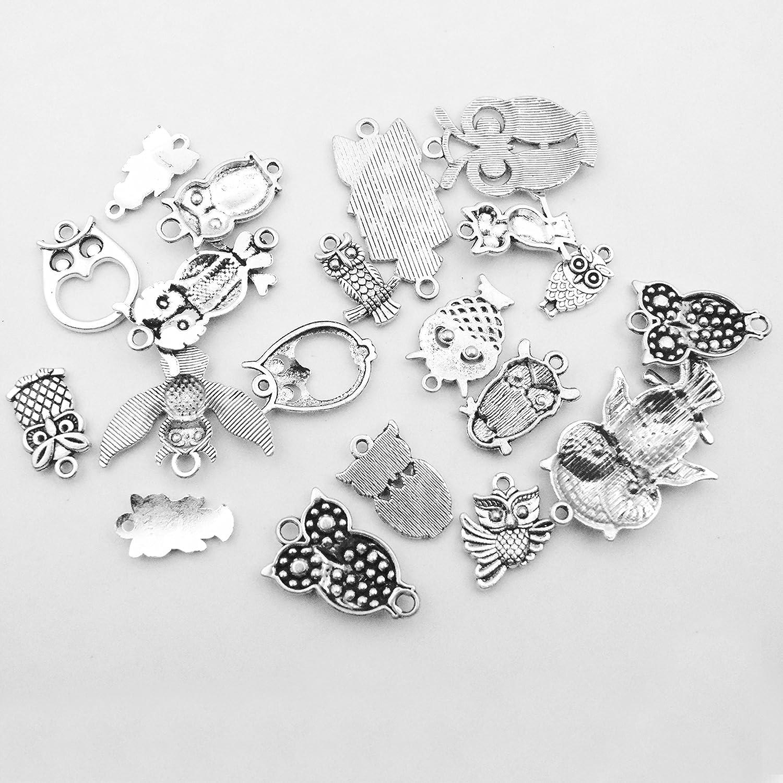 100 g Aircraft Charms Collection etc pulseras joyer/ía accesorios para hacer collares Colecci/ón de abalorios para manualidades