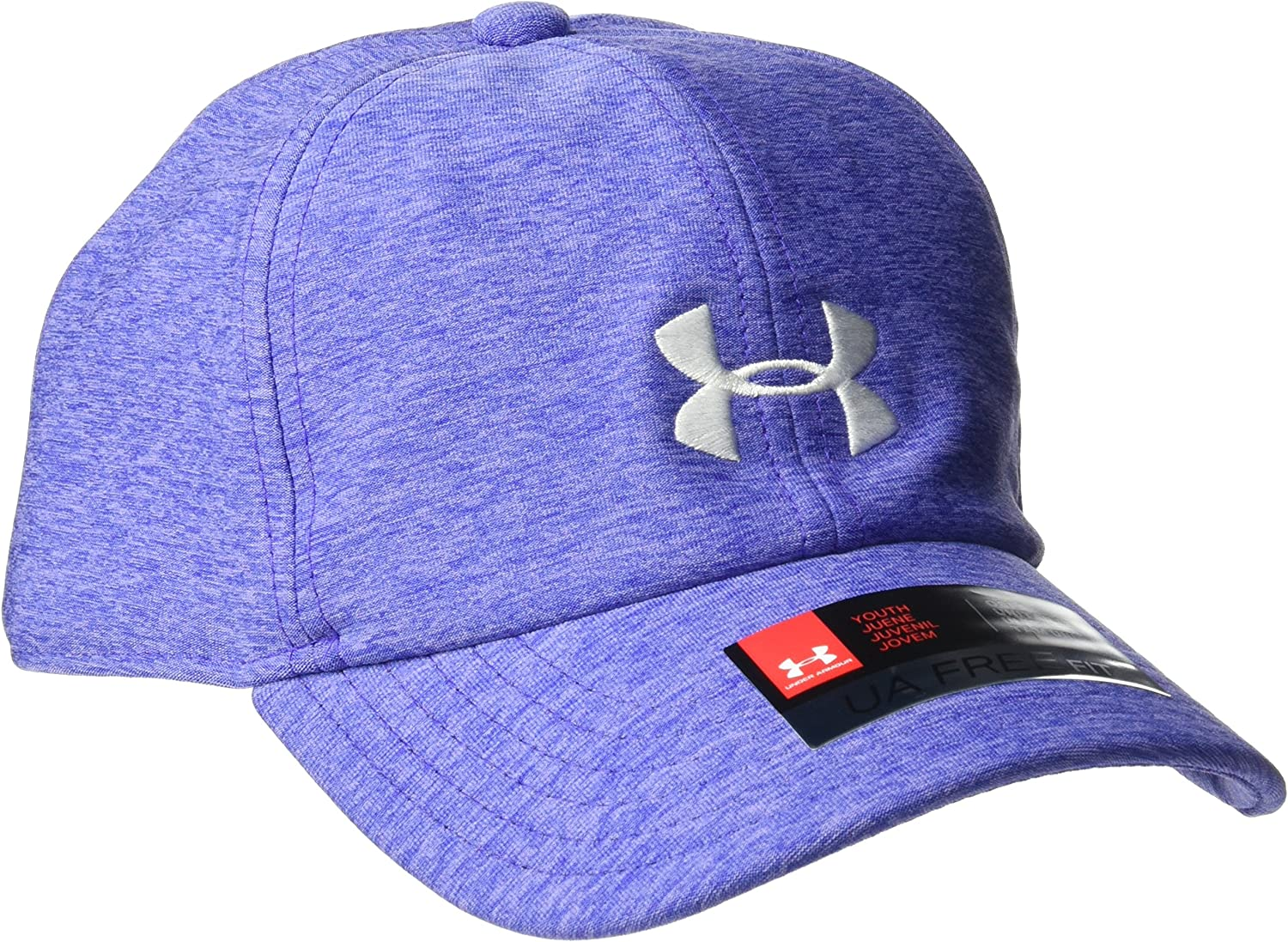 Under Armour Girls Twisted Cap, Constellation Purple (530)/White ...