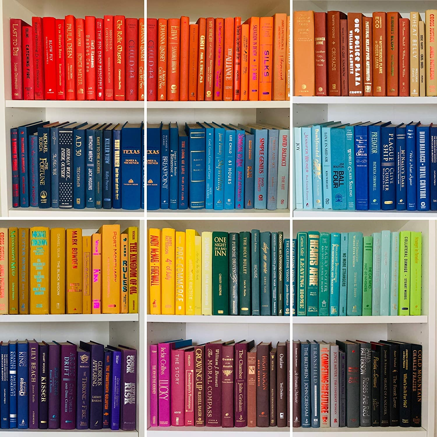 Decorative Books by Color | Real Books | Used Bulk Cheap Thrift Designer Home Decor | Choose Your Color | Price is per Book | Create a Set | Fill a Bookshelf, Stack, Office, Home, Shelf, Library