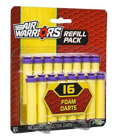 Buzz Bee Toys Air Warriors 16 Suction Dart Refill