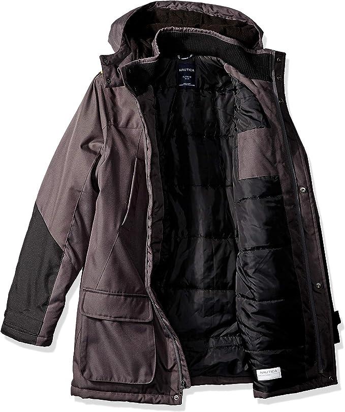 Youth Boy/'s Nautica Ballistic Snow Winter Jacket Black
