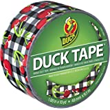Duck Brand 281769 Printed Duct Tape, Cherries, 1.88 Inches x 10 Yards, Single Roll