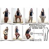 Sora Nähanleitung mit Schnittmuster auf CD für Sarouel-Hose Pump Aladin Wellness Yoga, Jerseyhose