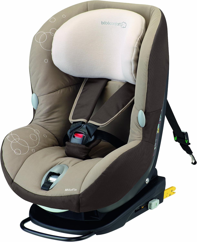Bébé Confort Milofix 85365350 - Silla para coche Grupo 0+/1 Con Isofix, color marrón