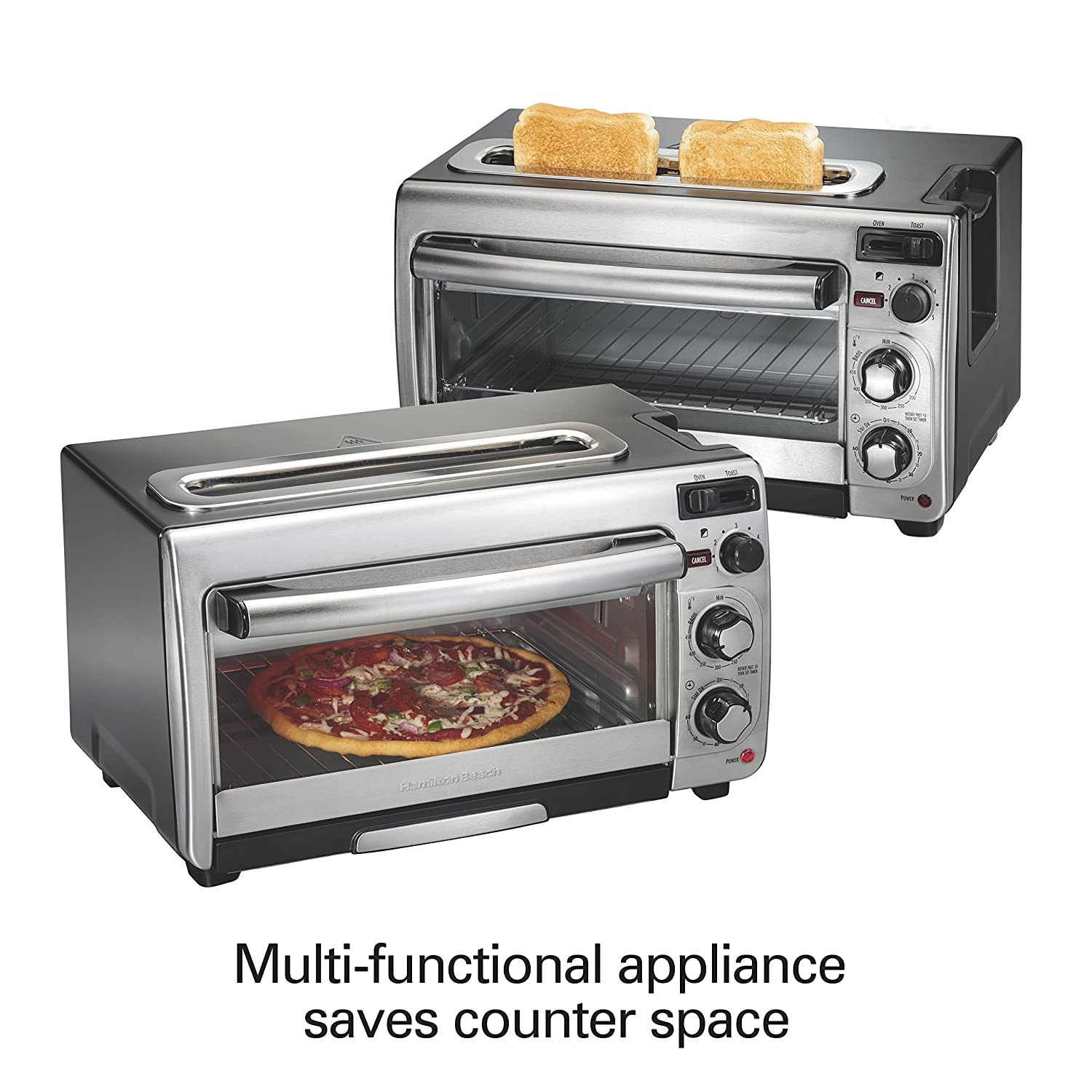 Oster Toaster Wiring Diagram Library Amazoncom Hamilton Beach 31156 Countertop Oven Stainless Steel Kitchen