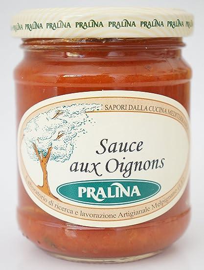 Pralina - Salsa artesanal italiana con cebollas 180gr