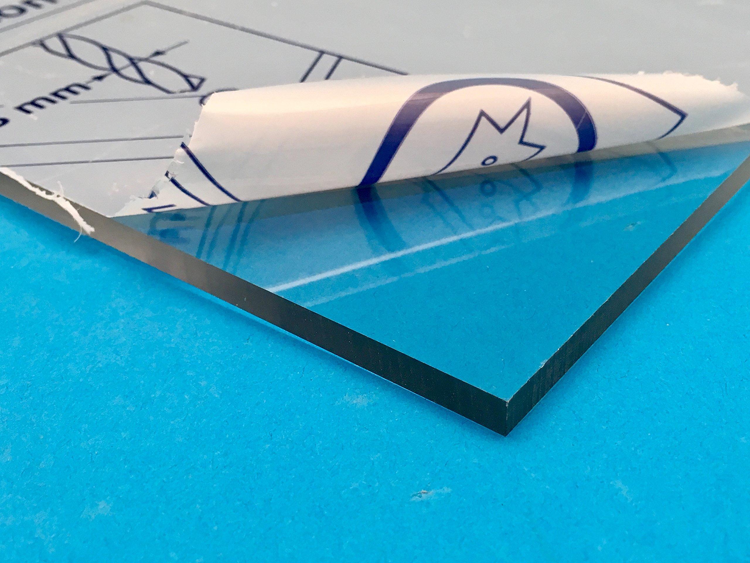 Clear Polycarbonate Lexan Sheet - 1/4'' (24'' x 48'')