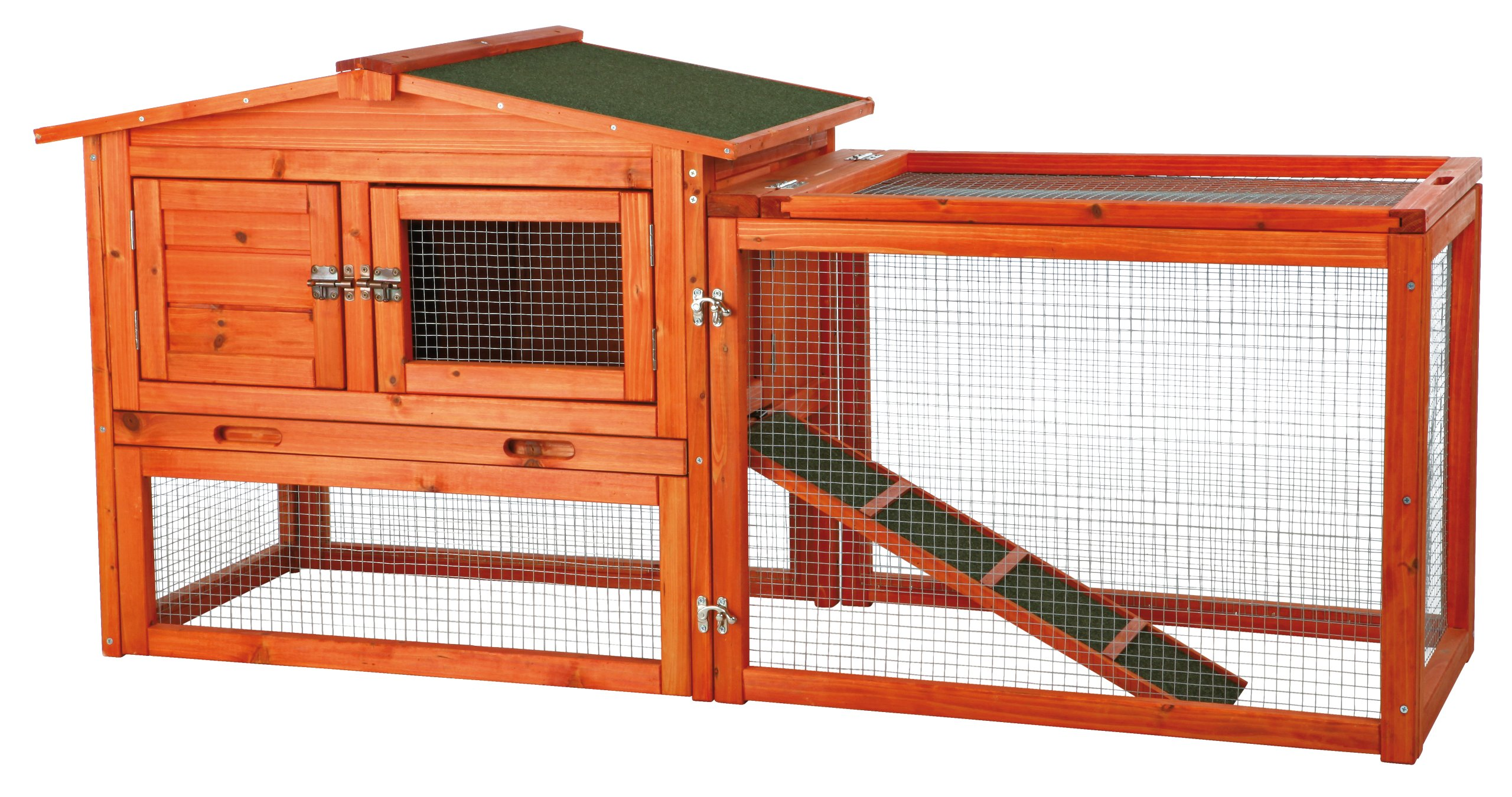 Trixie Pet Products Rabbit Hutch with Outdoor Run by Trixie