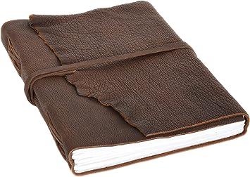 Gusti Leder /'Jessica/' Notizbuch DIN B6 Tagebuch Lederbuch Notizblock Fotobuch