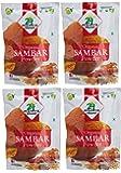 Organic Sambar Powder - ★ USDA Certified Organic - ★ European Union Certified Organic - ★ Pesticides Free - ★ Adulteration Free - ★ Sodium Free - Pack of 4 X 3.5 Ounces (14 Ounces) - 24 Mantra Organic