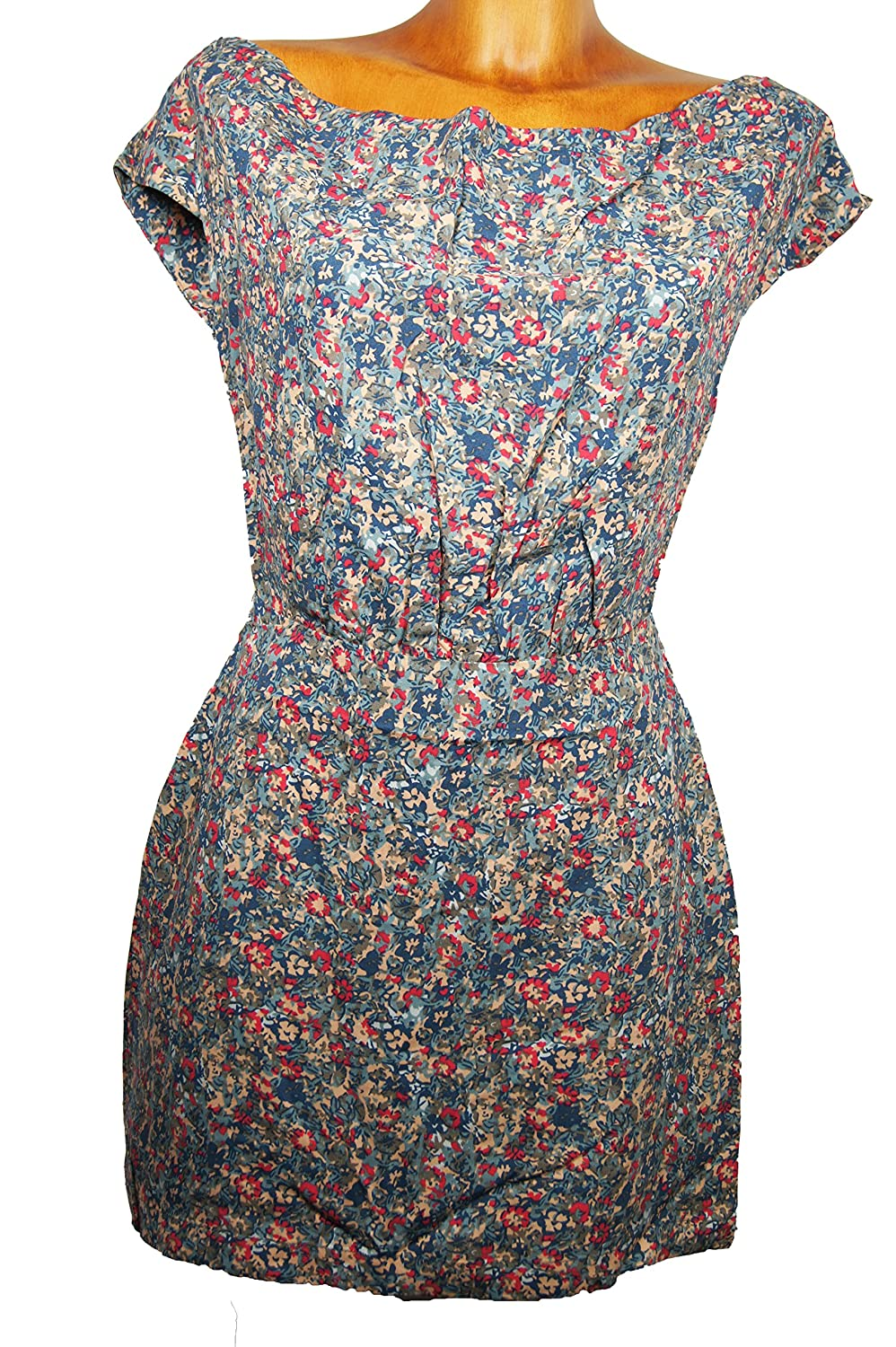 'Lifetime Collective Women's Claudia Floral Midi Dress, Multicoloured, available in various sizes