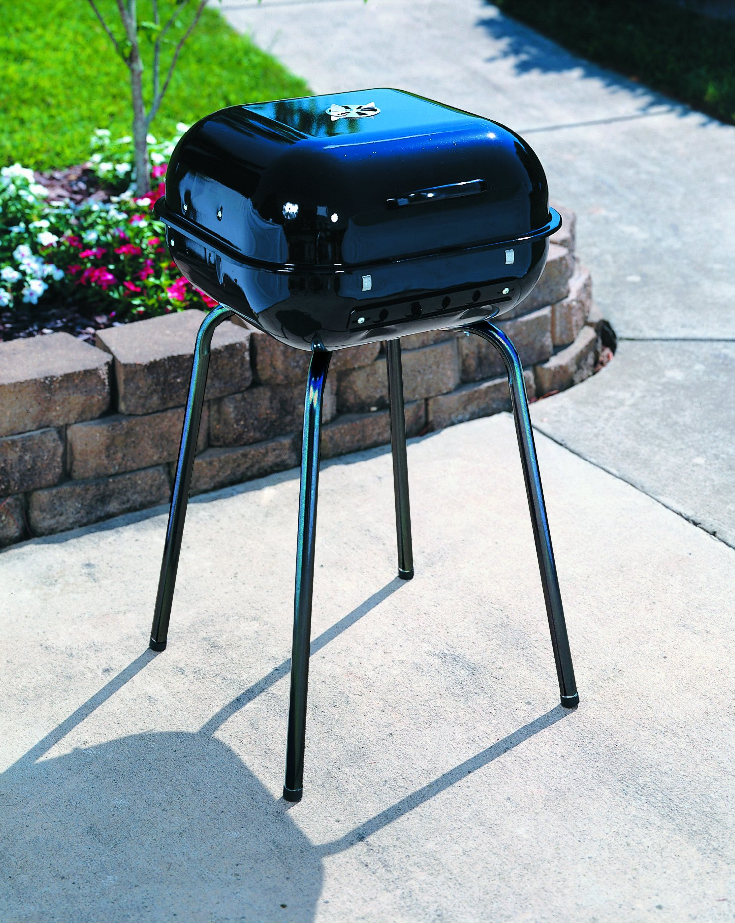 Americana the Sizzler-Charcoal Grill, Black