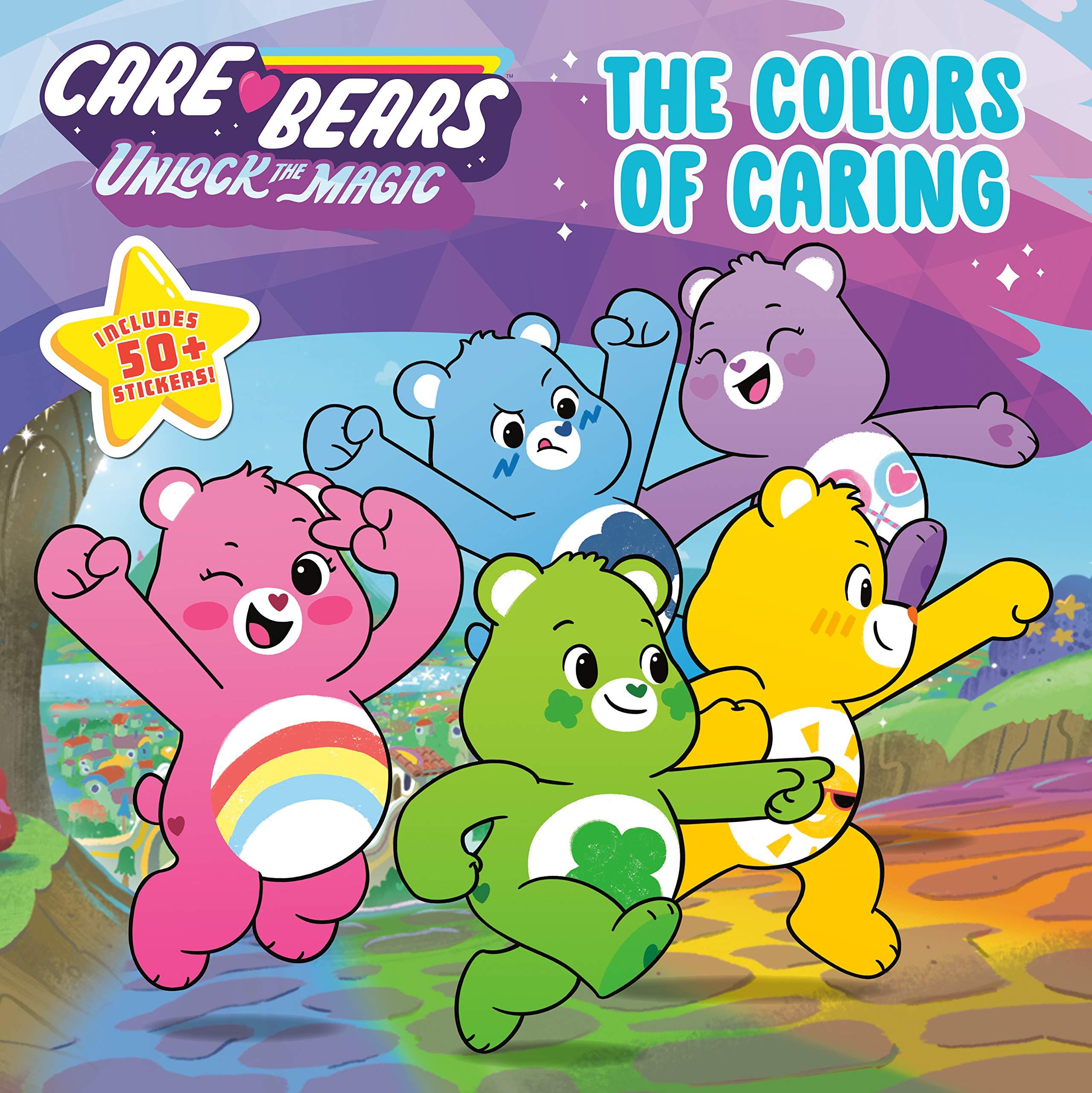 The Colors of Caring (Care Bears: Unlock the Magic): Saxon, Victoria: 9780593097069: Amazon.com: Books