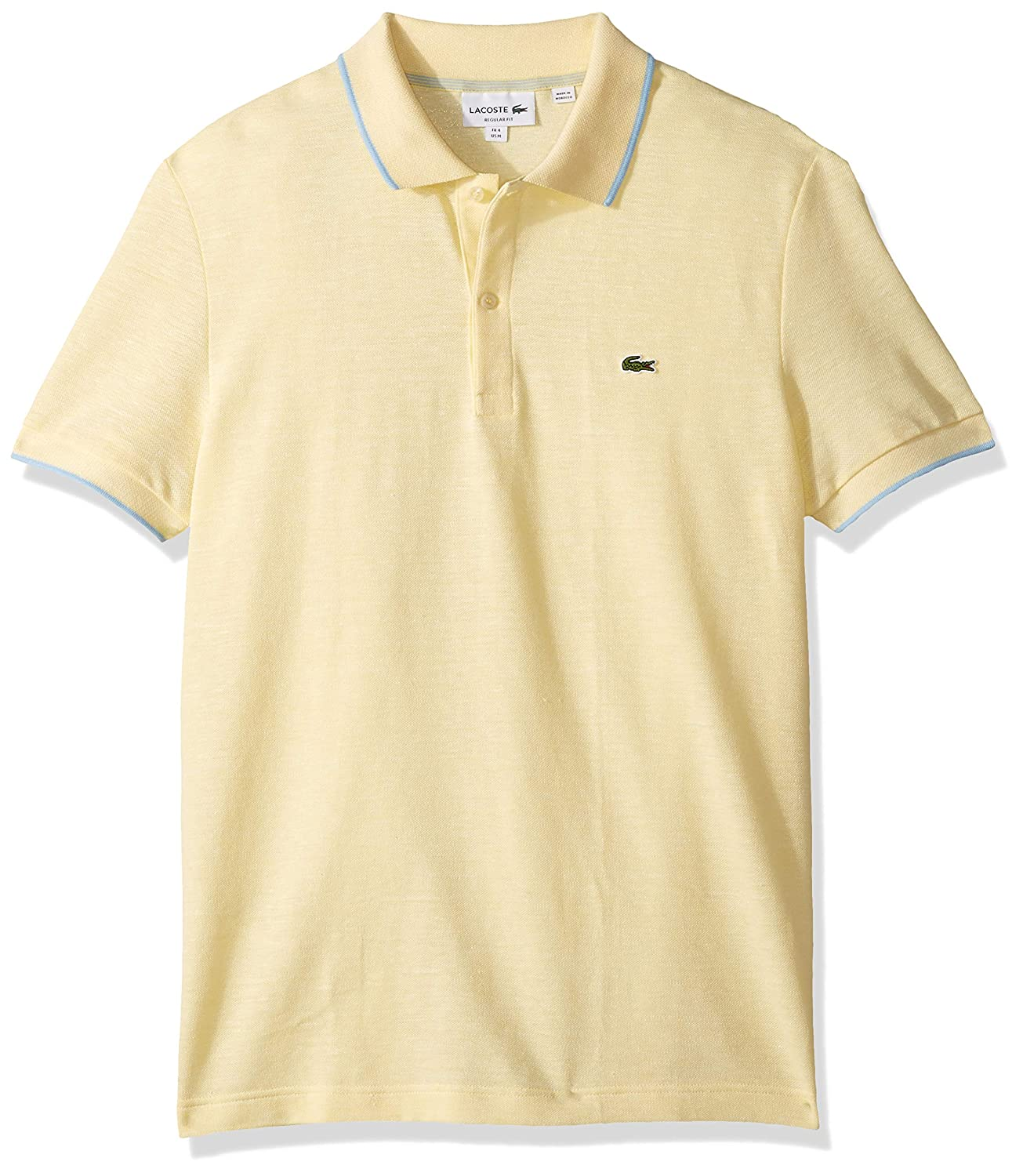 Lacoste - Polo para hombre (talla XL), color amarillo: Amazon.es ...