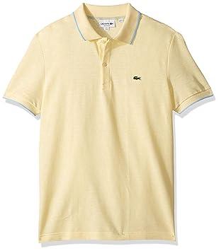 Lacoste - Polo para hombre (talla XL), color amarillo: Amazon.es ...