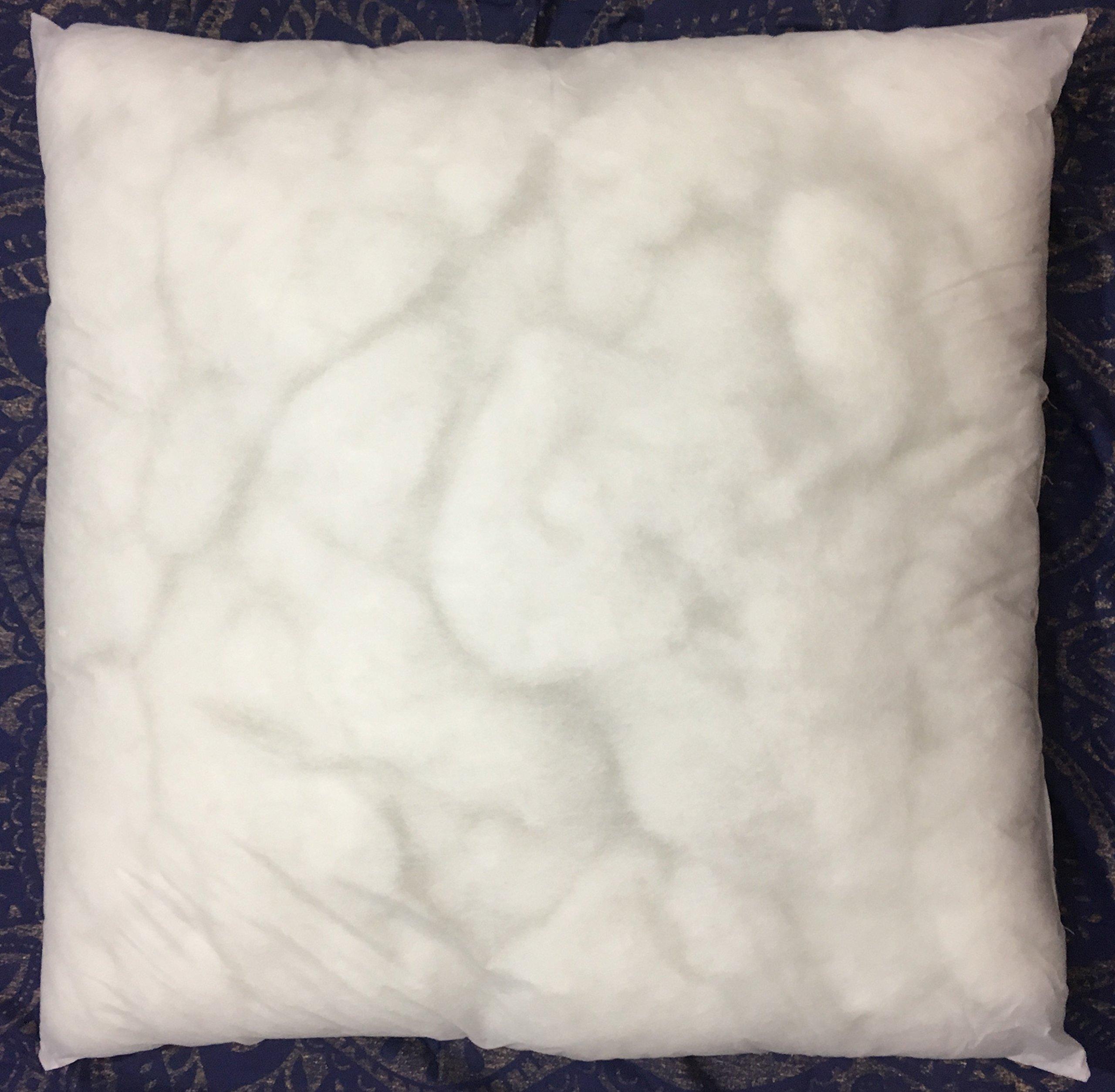 Ganesham Handicraft - Indian Home Decor Polyfiller Inner Pads Square Best For Mandala Floor Pillow Insert 35x35 inch (Christmas Gift)