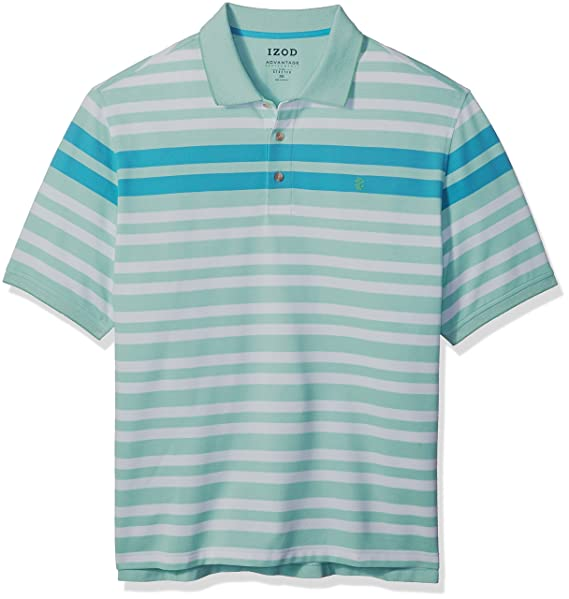 96126234e9 Izod Men s Big and Tall Advantage Performance Solid Polo Shirt  Amazon.ca   Clothing   Accessories