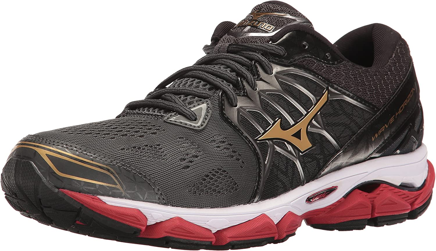 mizuno mens running shoes size 9 youth gold toe tight off