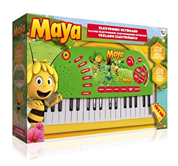 IMC Toys - Teclado para niños La abeja Maya Abeja Maya