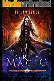 Grey Magic: Hot skin, blue lips. Meet Raven Kane, your new favorite witch.