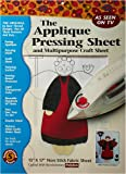 Bear Thread Applique Pressing Sheet
